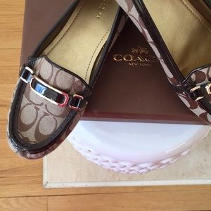 Coach Loafers Brown